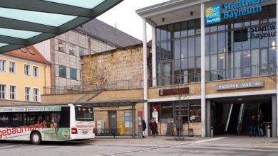 Umleitung im Stadtbusverkehr