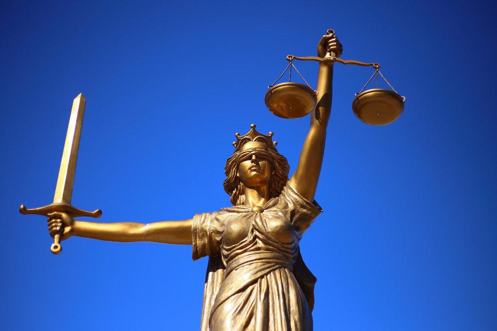 Vor dem Gericht in Bayreuth. Symbolbild: pixabay