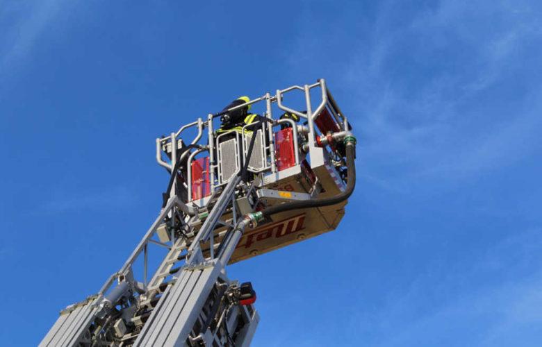 Drehleiter Feuerwehr Bayreuth