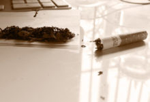 Eine 20-jährige Schwäbin wurde am Autohof Himmelkron mit einem Joint erwischt