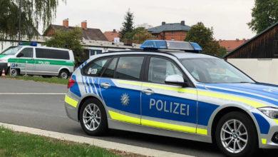 Polizeiautos in Bayreuth