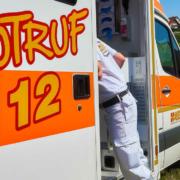 Schulbus zwischen Pegnitz und Trockau mit Unfall