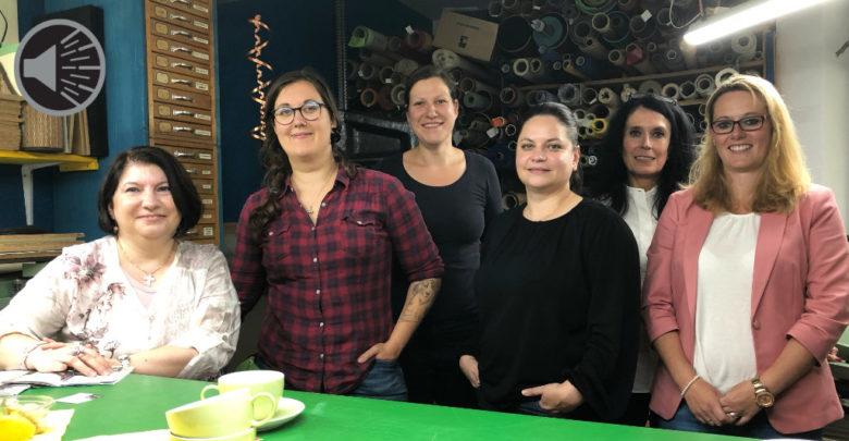 Mitglieder des Netzwerkes selbstständiger Frauen im Atelier Kala