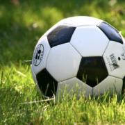Ein Fußball in der Wiese. Foto: Pixabay.
