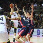 Gregor Hrovat hat mit der Strasbourg-Defensive zu kämpfen