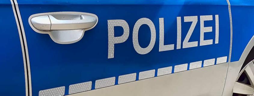 Ein Polizeiauto. Symbolfoto: Pixabay