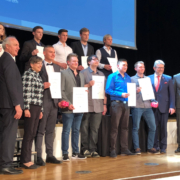 Die Preisträger im Leistungswettbewerb aus Oberfranken