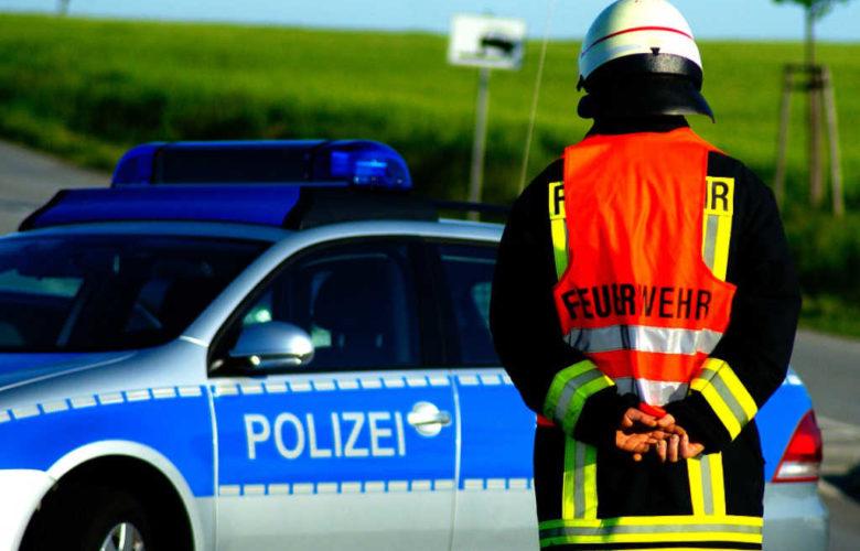 Ein Mann ist bei einem Unfall bei Trockau im Landkreis Bayreuth gestoben