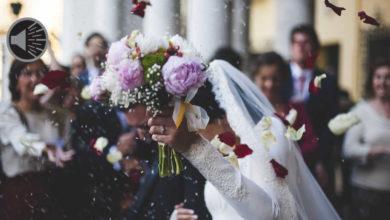Eine Hochzeit wurde in Unterfranken aufgelöst.