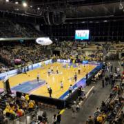 Basketballspiel in Berlin