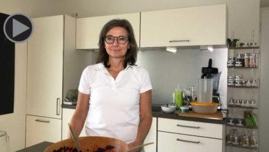 Marika Bange in ihrer Küche.
