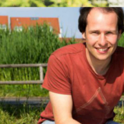 Tim Pargent im Grünen.