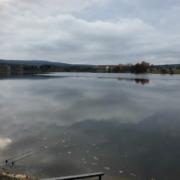 Der Weißenstädter See und ein Angler
