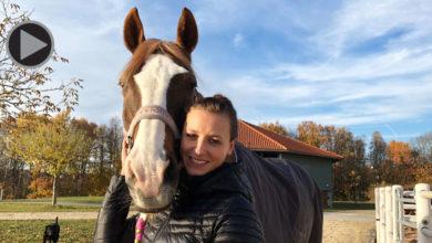 Stefanie Schatz Weihermüller mit Pferd