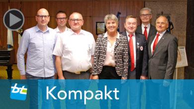 BRK und Wasserwacht im Rathaus Bayreuth