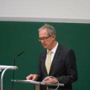 Universitätspräsident Prof. Dr. Stefan Leible