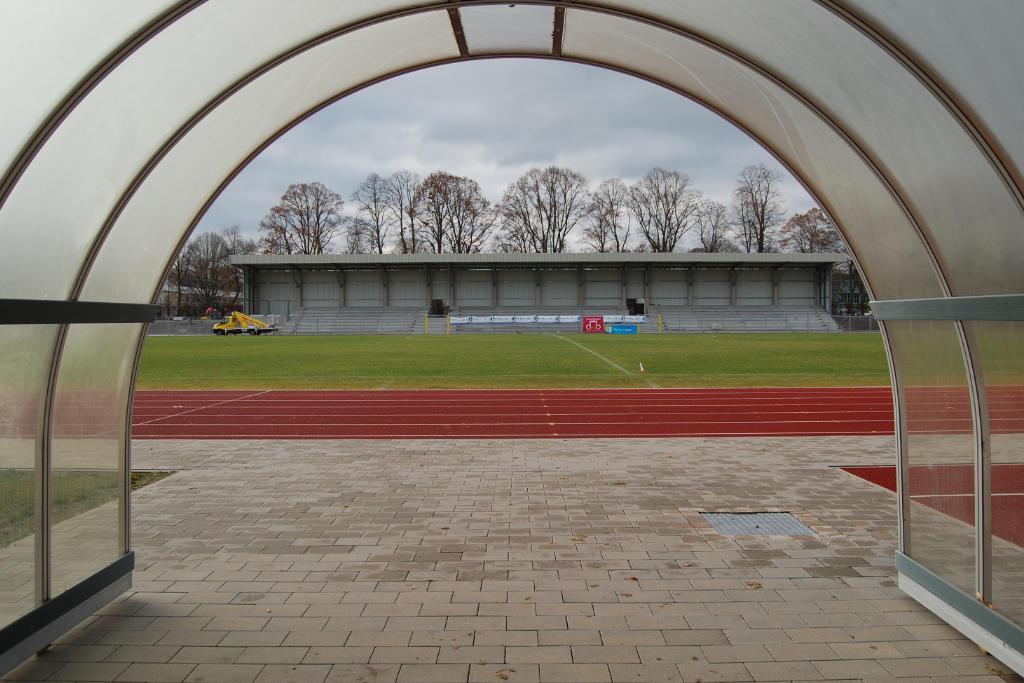 Die neue Gegentribüne des Hans-Walter-Wild-Stadions. Foto: Stadt Bayreuth
