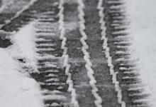 Unfall wegen Schnee und Glätte