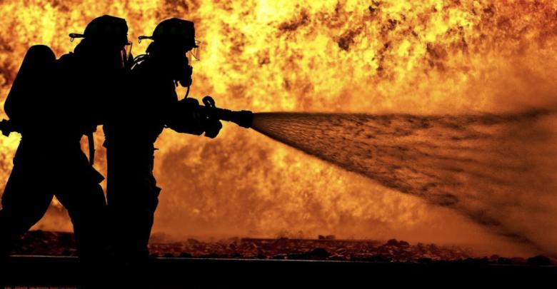 Feuerwehr Großbrand