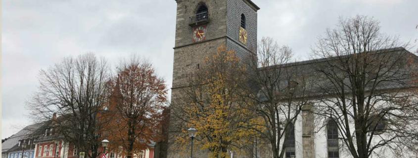Marktplatz der Gemeinde Weißenstadt
