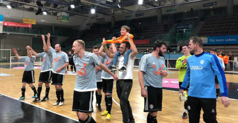 Der FC Eintracht gewinnt die Stadtmeisterschaft