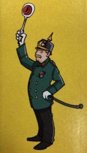 Bayreuth wimmelt, Polizist Joe Friedlein