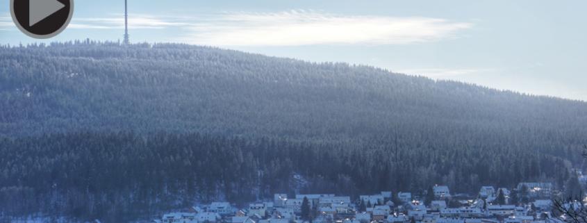 Ochsenkopf mit Schnee