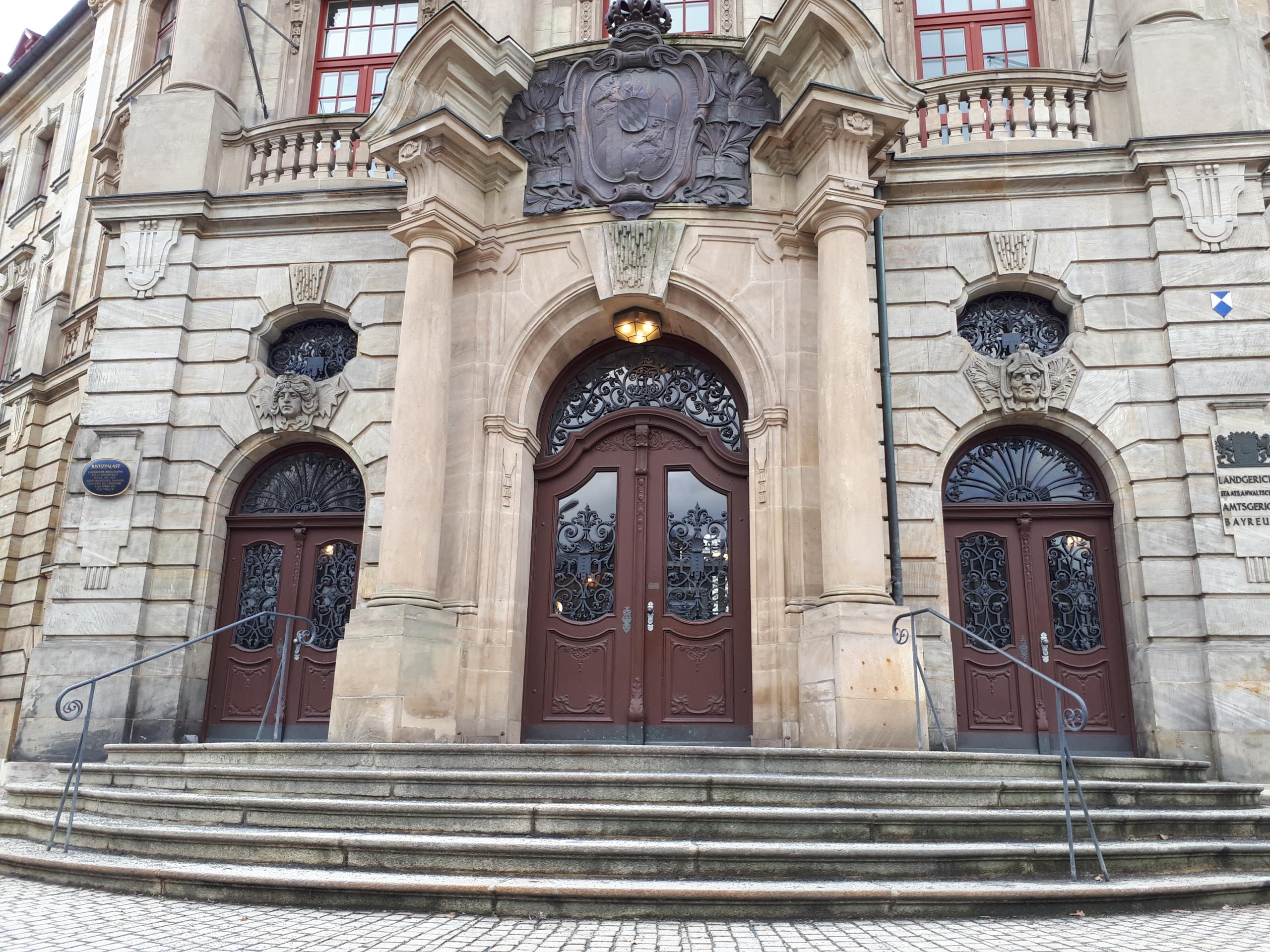Das Amtsgericht in Bayreuth. Archivfoto: Redaktion