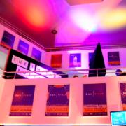 kontrast-Filmfest im Zentrum mit Plakaten