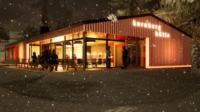 Entwurf Kornberghütte, Foto: Kuchenreuther Architekten, Marktredwitz