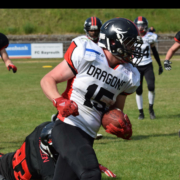 Die Bayreuth Dragons beim American Football. Foto: Bayreuth Dragons