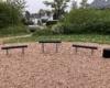 Spielplatz Weserstrasse Balance Spielzeug