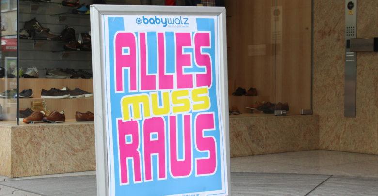 Alles Muss Raus Baby Walz In Bayreuth Schließt Bayreuther Tagblatt