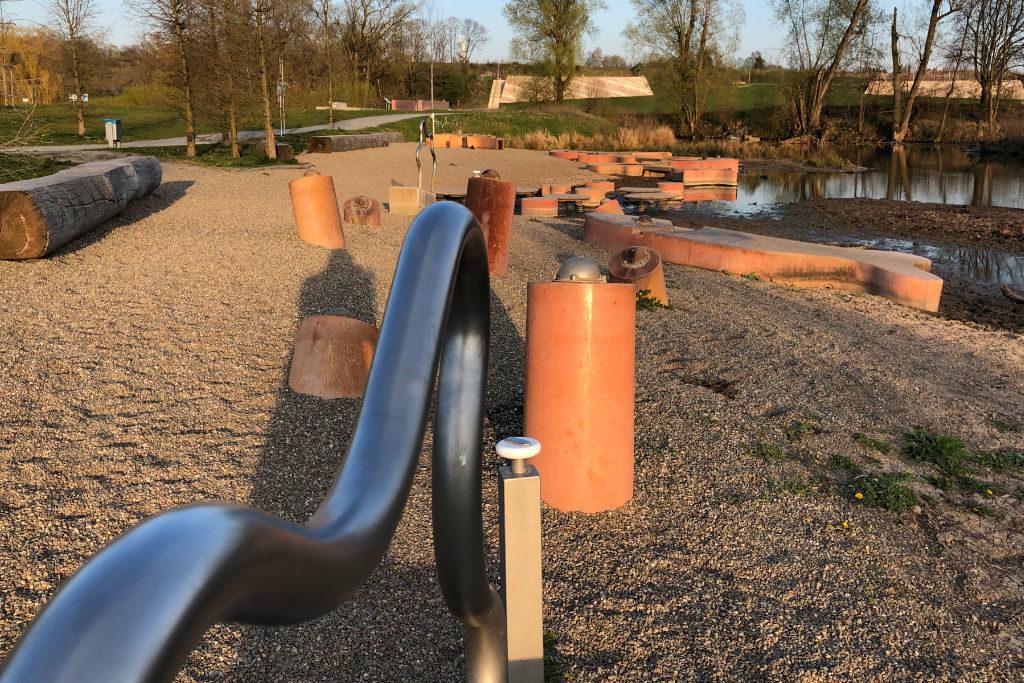 Wasserspielplatz Wilhelminenaue