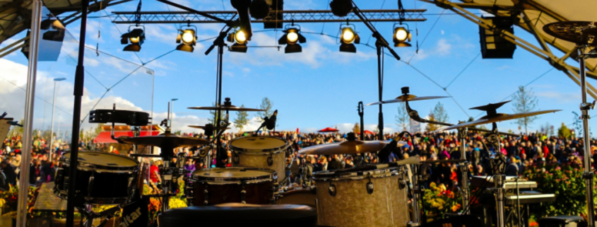 Ein Festival auf der Seebühne in Bayreuth: Das Seebühnen-Festival 2020 kommt. Foto: Redaktion