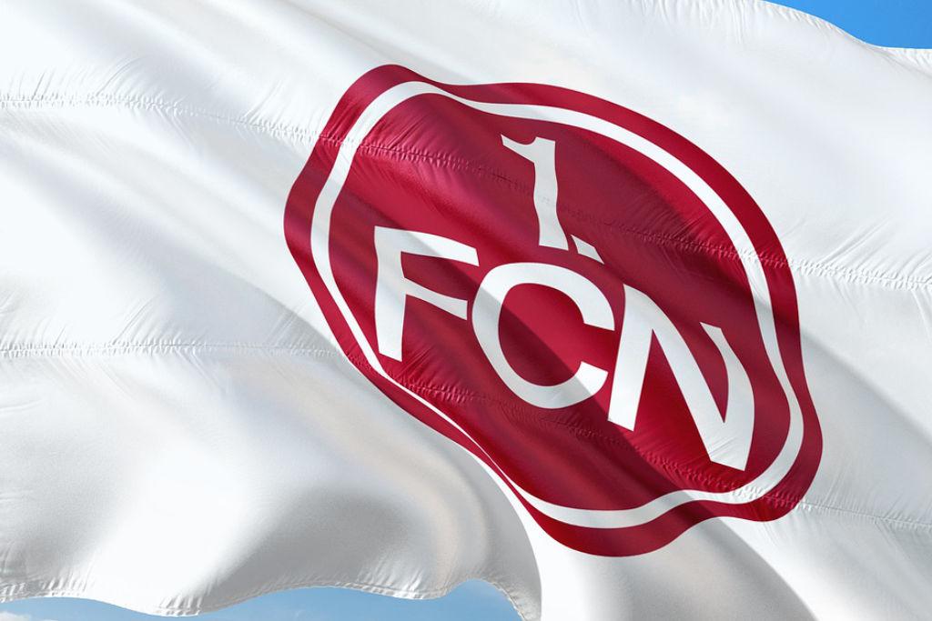 1. FC Nürnberg FCN Glubb Club Fahne