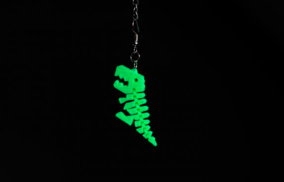 Ohrring Dino