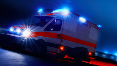 Unfall in Selb