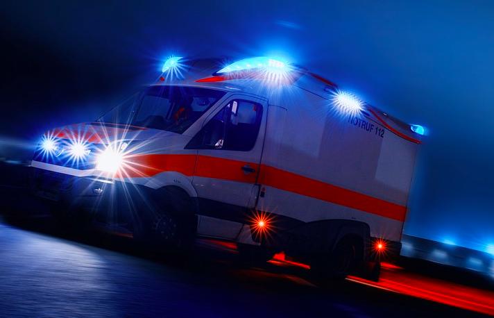 Zwei Verletzte bei einem Unfall in Bayreuth.