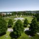 Uni Bayreuth Luftaufnahme