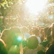Kommune Frühlingsgefühle im Lamperie Biergarten