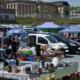 Flohmarkt am Bayreuther Volksfestplatz im Mai