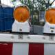 Baustellenlicht in der Münzgasse