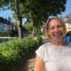 Die ehrenamtliche Organisatorin des Birken-Flohmarkts Magdalena Aderhold. Foto: Susanne Monz