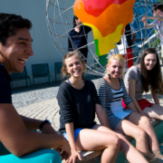 Junge Teilnehmer bei der Sommeruni Bayreuth