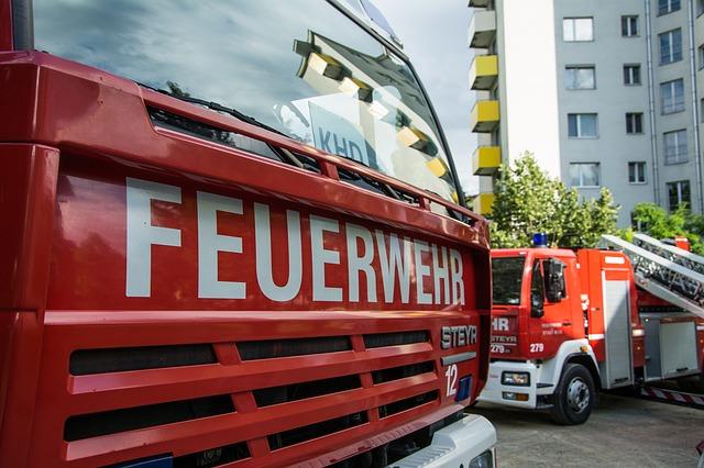 Feuerwehr im Einsatz. Symbolfoto: pixabay