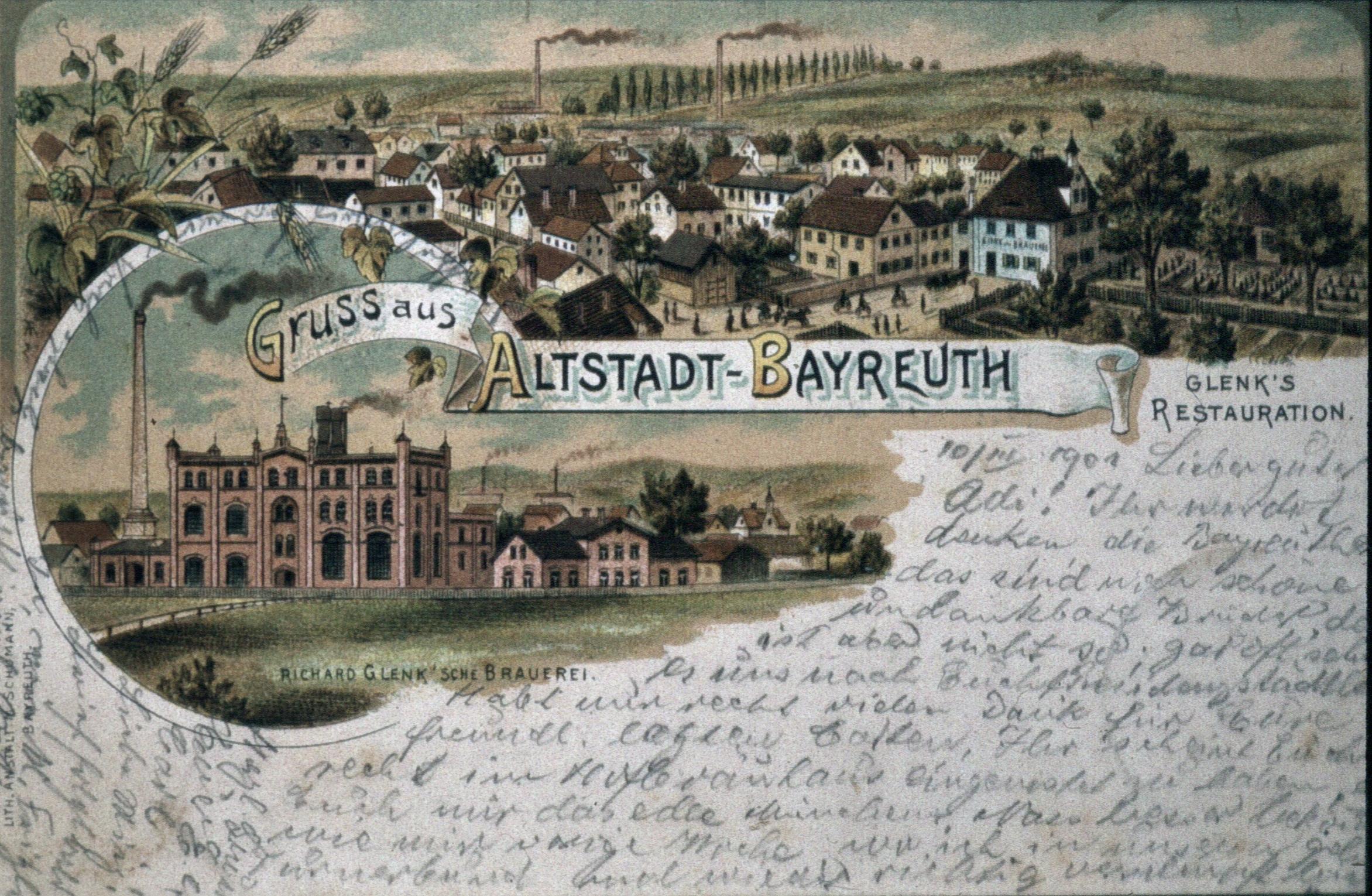 Glenk in Bayreuth. Foto: Bernd Mayer Stiftung