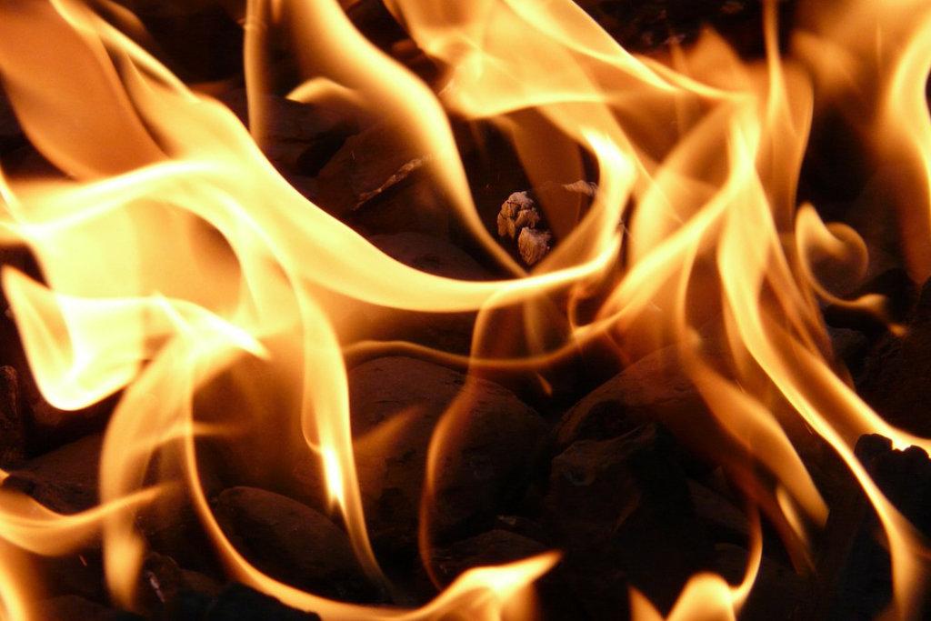 Ein Feuer. Symbolbild: pixabay