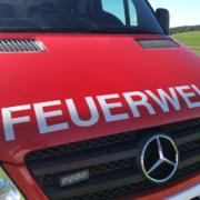 Die Feuerwehr im Einsatz. Symbolfoto: Susanne Monz.