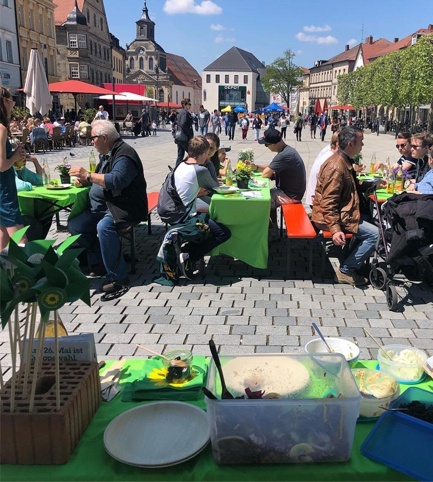 Veganes Dinner in der Maximilianstraße